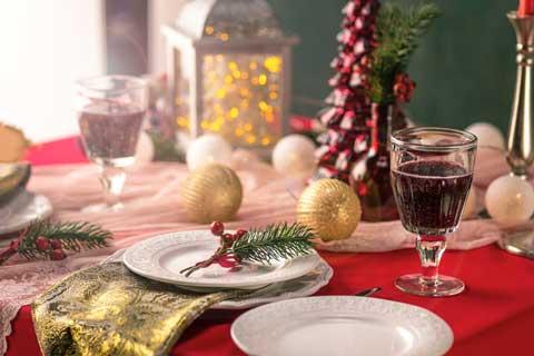 Kerstdiner in Wijchen.